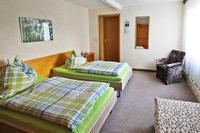Schlafzimmer Unterkunft Familie Krämer