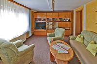 Wohnzimmer Unterkunft Familie Krämer