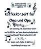 Kaffeekonzert für Oma und Opa2017